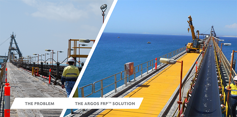 Argos FRP: Customised, end-to-end FRP solutions for your construction and corrosion problems.