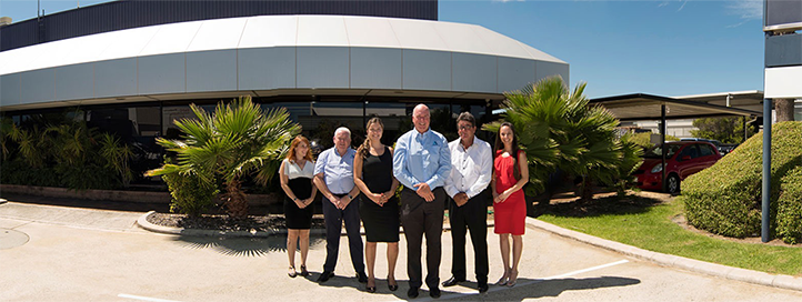 Argos FRP office panorama with our core team.