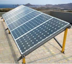 FRP Solar Panel frames and supports