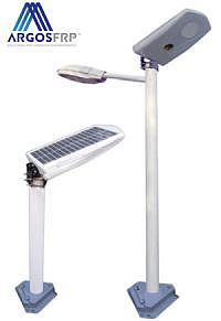 frp light pole