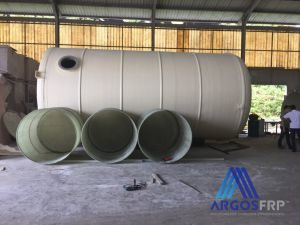frp tank, vessel, pipes