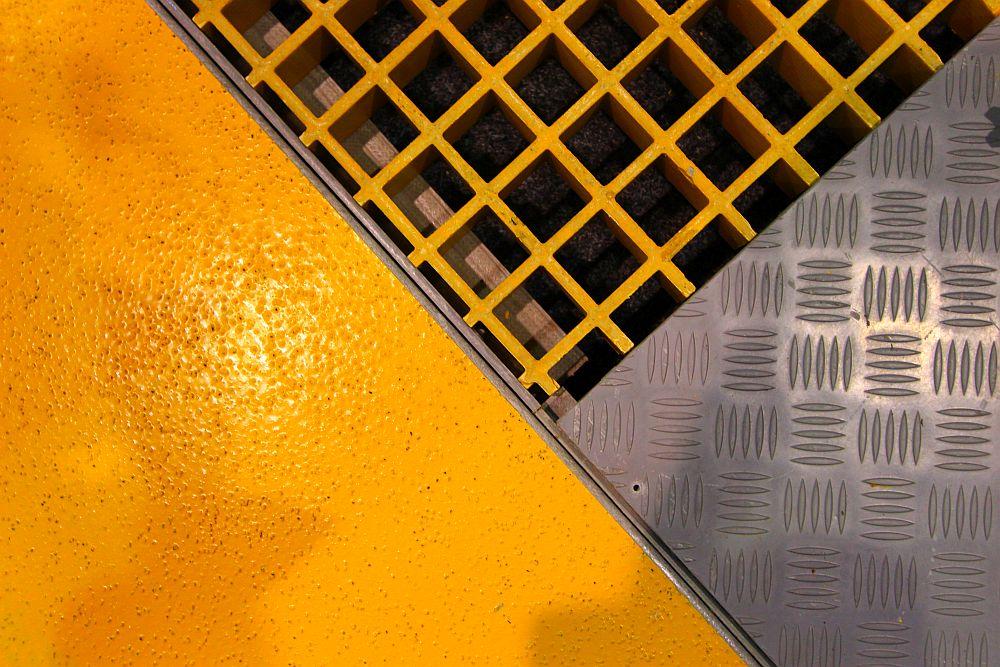 Argos frp floor grating
